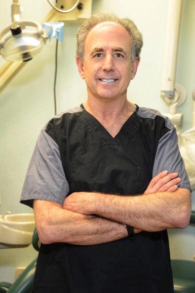Dr. Horowitz in his scrubs